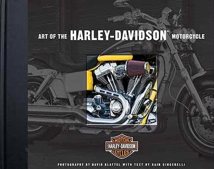 Art of the Harley-Davidson Motorcycle Hardcover by Dain Gingerelli