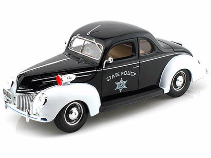 1939 Ford Deluxe Police