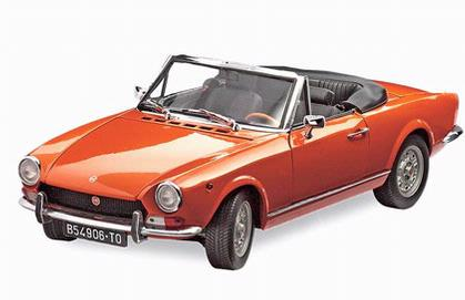Fiat 124 Spider BS 1969 **LAST  ONE**