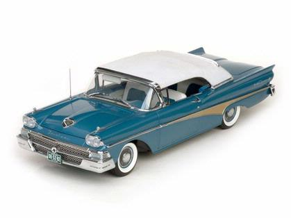 Ford Fairlane 500 1958 Closed Convertible
