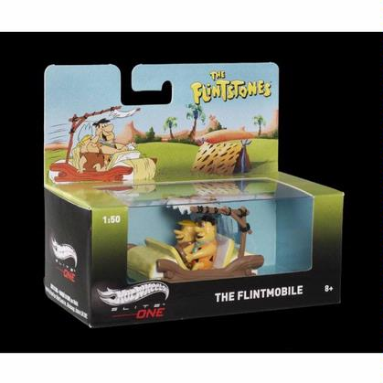 The Flintstones Flintmobile w/ Fred & Barney Figures