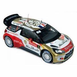 Citroen DS3 WRC #1 Loeb/ Elena (Winner Monte-Carlo 2013)