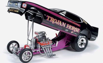 Ford Mustang 1972 Funny Car Quot Trojan Horse Quot