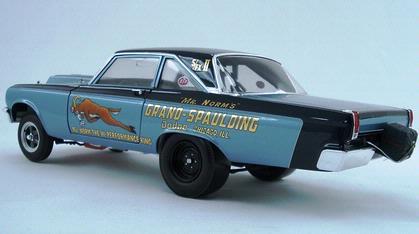 Dodge Coronet Hemi 1965 Fuel Injected AWB