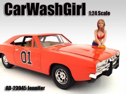 Figure Car Wash Girl
