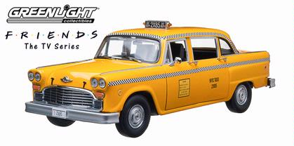 hoebe Buffay's 1977 Checker Taxi Cab