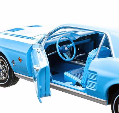 Ford mustange coupe 1967 lone star bluebonnet special for Bluebonnet motors used cars