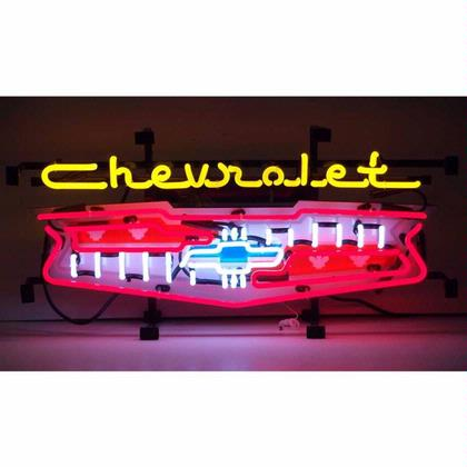 GM Chevrolet Grill Neon Sign (Chevy)