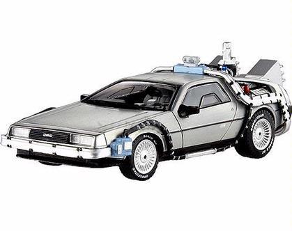 Back to The Future Time Machine w/ Mr. Fusion Delorean (1:43) (Last One)
