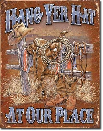 Hang Yer Hat At Your Place
