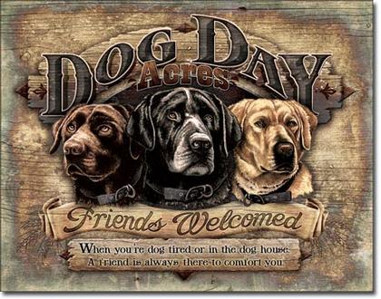 Dog Day Acres - Friends Welcomed