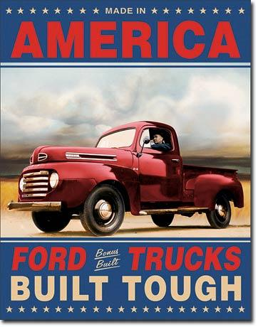 Ford Trucks Built Tough