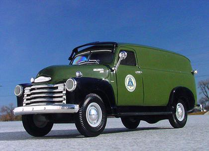 Pacific Telephone Bell System 1949 Chevrolet Panel Truck