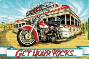 Harley-Davidson - Get Your Kicks (Embossed)