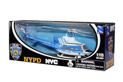 Helicopter Bell 412 NYPD 1/115