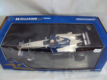 Williams F1 BMW FW22 Showcar 2001