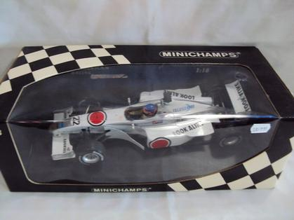 Bar F1 Honda Showcar 2000