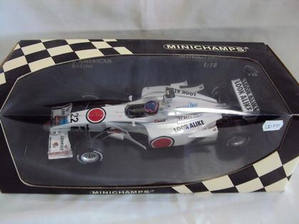 Bar F1 Honda 2002