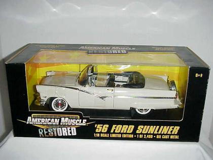 Ford Sunliner 1956 Convertible