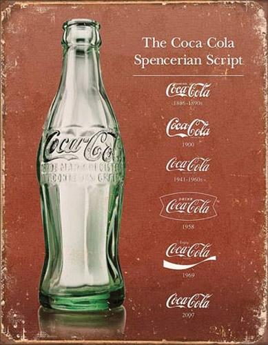 The Coca-Cola Spencerian Script
