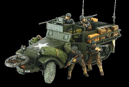 U.S. M3A1 HALF-TRACK Normandy,1944