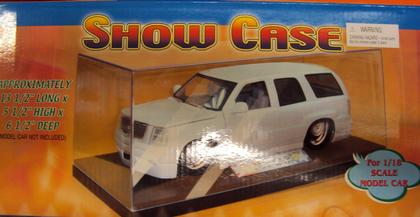 Show Case for one 1/18 with black base