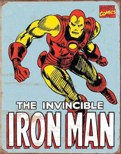 Ironman Retro - The Invicible Iron Man