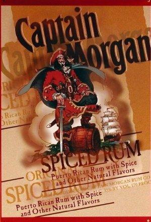 Captain Morgan Spiced Rum Pirate