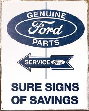 Ford Service Rustic