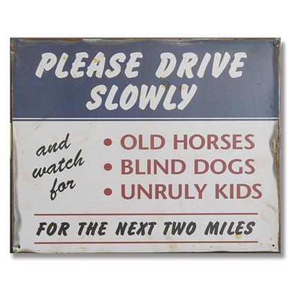 Please Drive Slowly