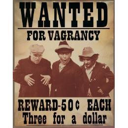 Wanted for Vagrancy - The Three Stooges