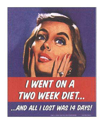 I Went On Two Week Diet