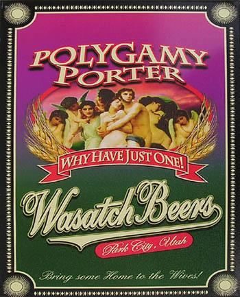Polygamy Porter - Wasatch Beers