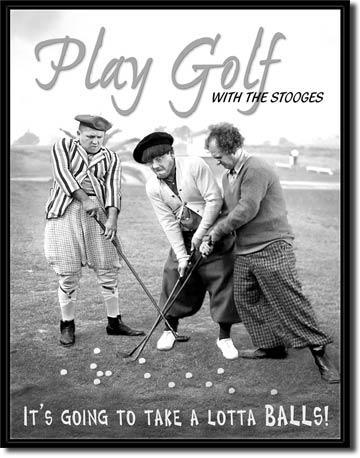 Play Golf With The Stooges