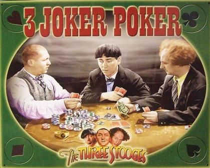3 Joker Pocker - The Three Stooges
