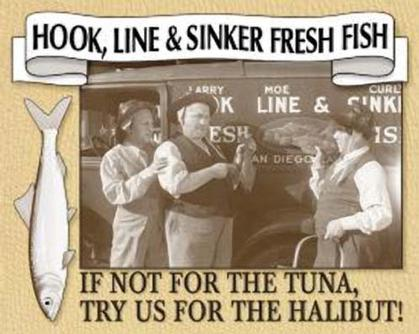 Stooges - Hook, Line & Sinker Fresh Fish