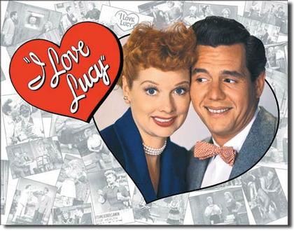 I Love Lucy - Couple Loving