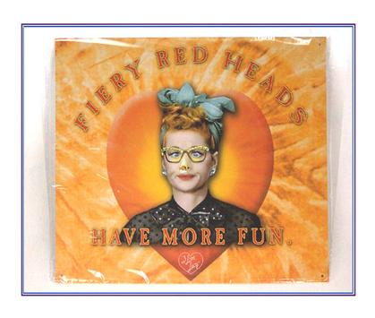 I Love Lucy, Fiery Red Heads