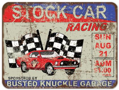 Stock Car Racing - Busted Knuckle Garage