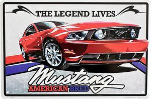 The Legend Lives- Mustang American Bred