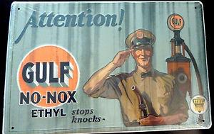 Attention! Gulf No-Nox Ethyl Stops Knocks