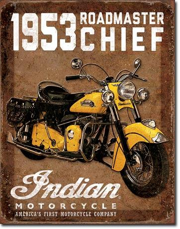 Indian Motorcycle - 1953 Roadmaster Chief