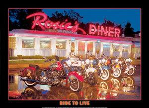 Rosie's Diner - Ride To Live