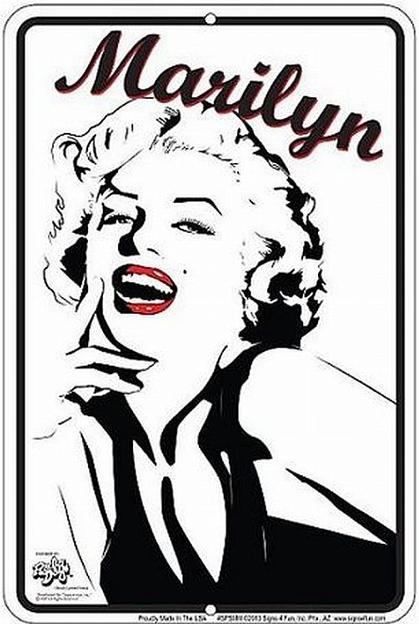 Marilyn (Radio Days) (Embossed)
