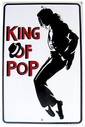 King Of Pop - Michael Jackson (Embossed)