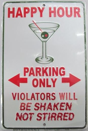 Happy Hour - Parking Only