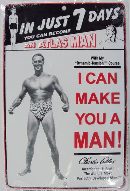 Atlas Man - I Can Make You A Man!