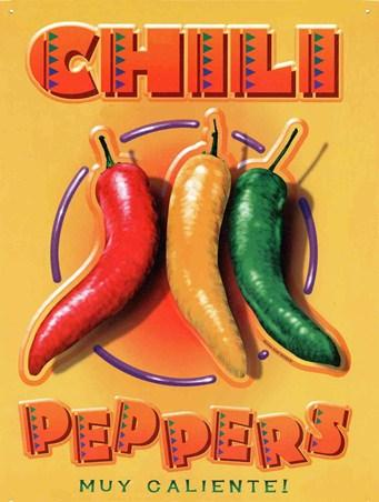 Chili Peppers Muy Caliente!