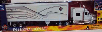 International Lonestar Truck with Dry Van