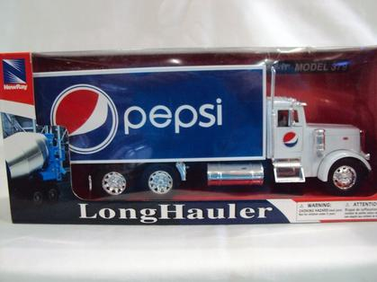 Pepsi - Peterbilt 379 Box Truck